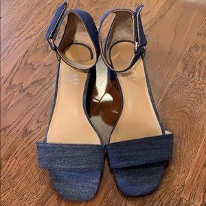 Franco Sarto Rosalina Ankle Strap Sandals